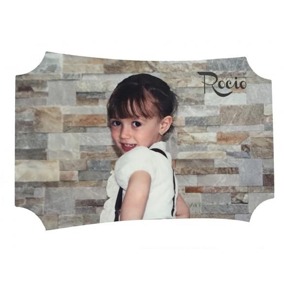 portafoto personalizado Rocío