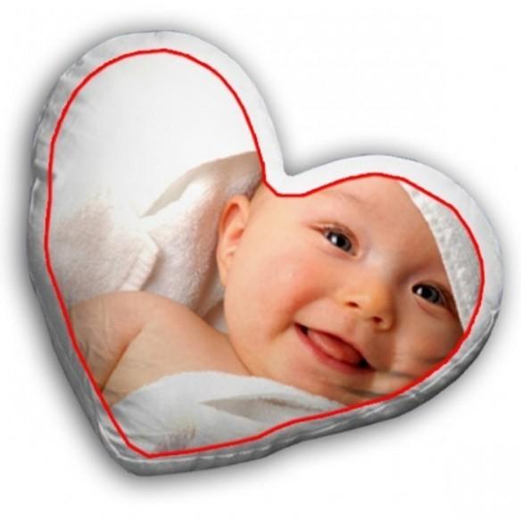 Cojin en forma de corazon grande