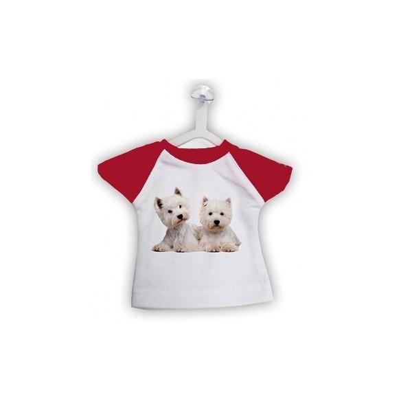 mini camiseta personalizada con percha