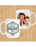 """Taza Blanca """"Mejor Papá del Mundo"""""""