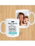 "Taza Blanca ""Papá como Tú ni en Millones"""