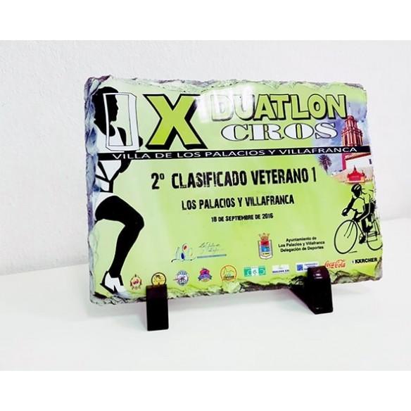 Placa personalizada todo color 30x20cm