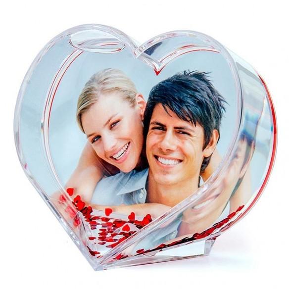Bola original en forma de corazón personalizada
