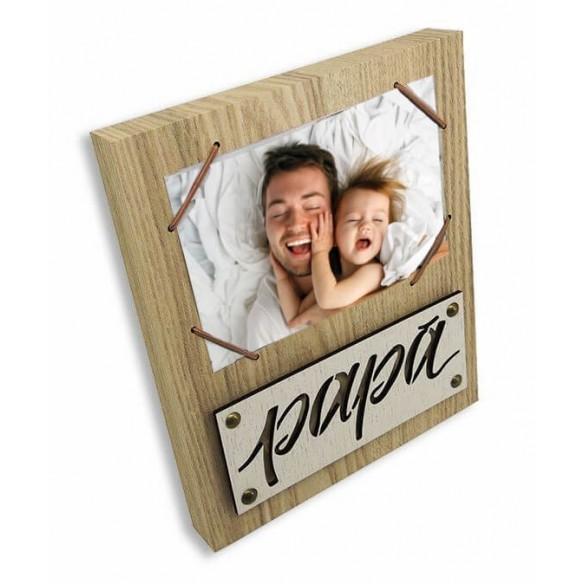 """Portafotos personalizado """"Papá"""""""