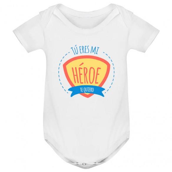 "Body para bebé ""Mi Héroe"""