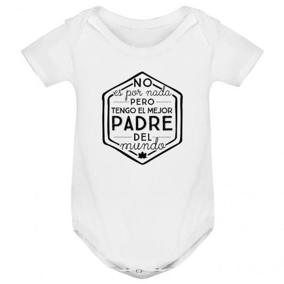 """Body para bebé """"Mejor Papá del Mundo"""""""