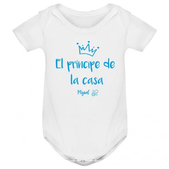 """Body bebé """"El príncipe de la casa"""""""
