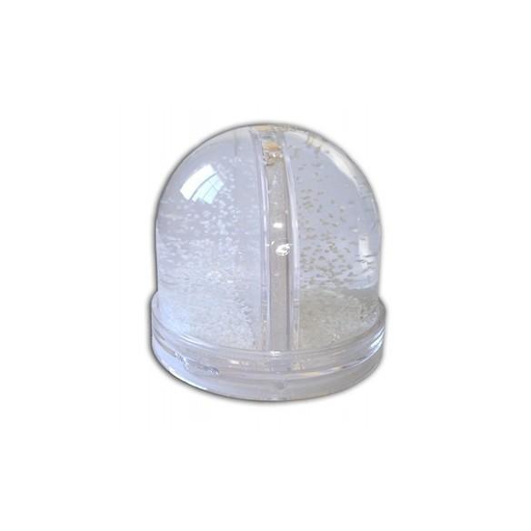 Bola de cristal personalizada con fotos