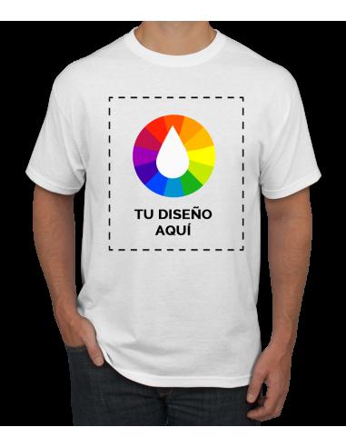 Camiseta personalizada 100% algodón